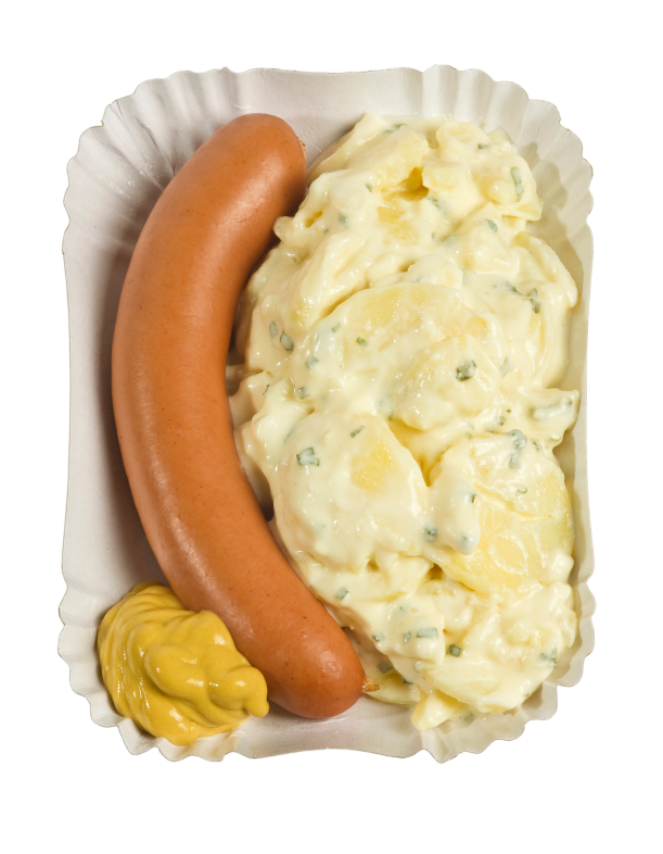 hot dog potato salad