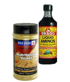 what to do with nutritional yeast, what to do with liquid aminos