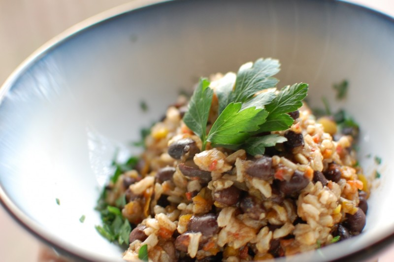 Simple Rice & Beans: My Go-To Meal