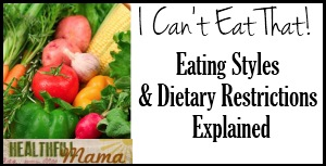 Dietary Restrictions1