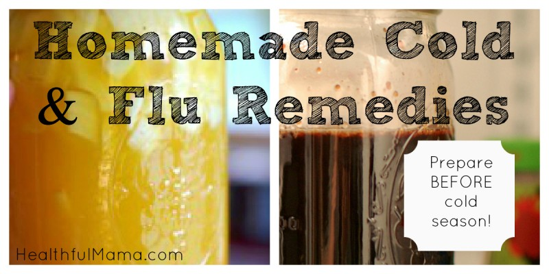 Prepare for Winter with Homemade Cold Remedies