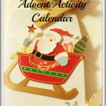 Off-Topic Tuesday: Advent Activity Calendar