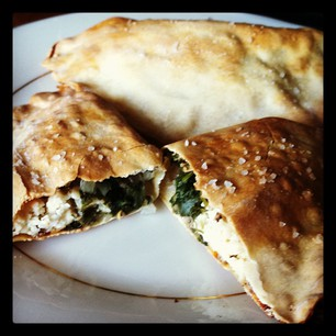Chicken and Spinach Hot-Pockets