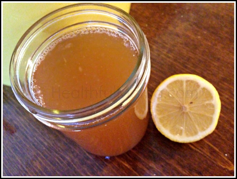 Healthful Mama Iced Tea with Whey