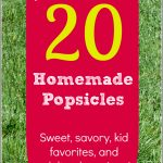20+ Homemade Popsicle Recipes