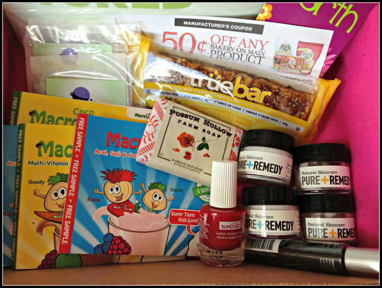 HealthfulMama Ecocentric Mom August Mom box review