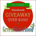 Holiday Giveaway Sponsored by Green Sisterhood #etsy #handmade #greensisters