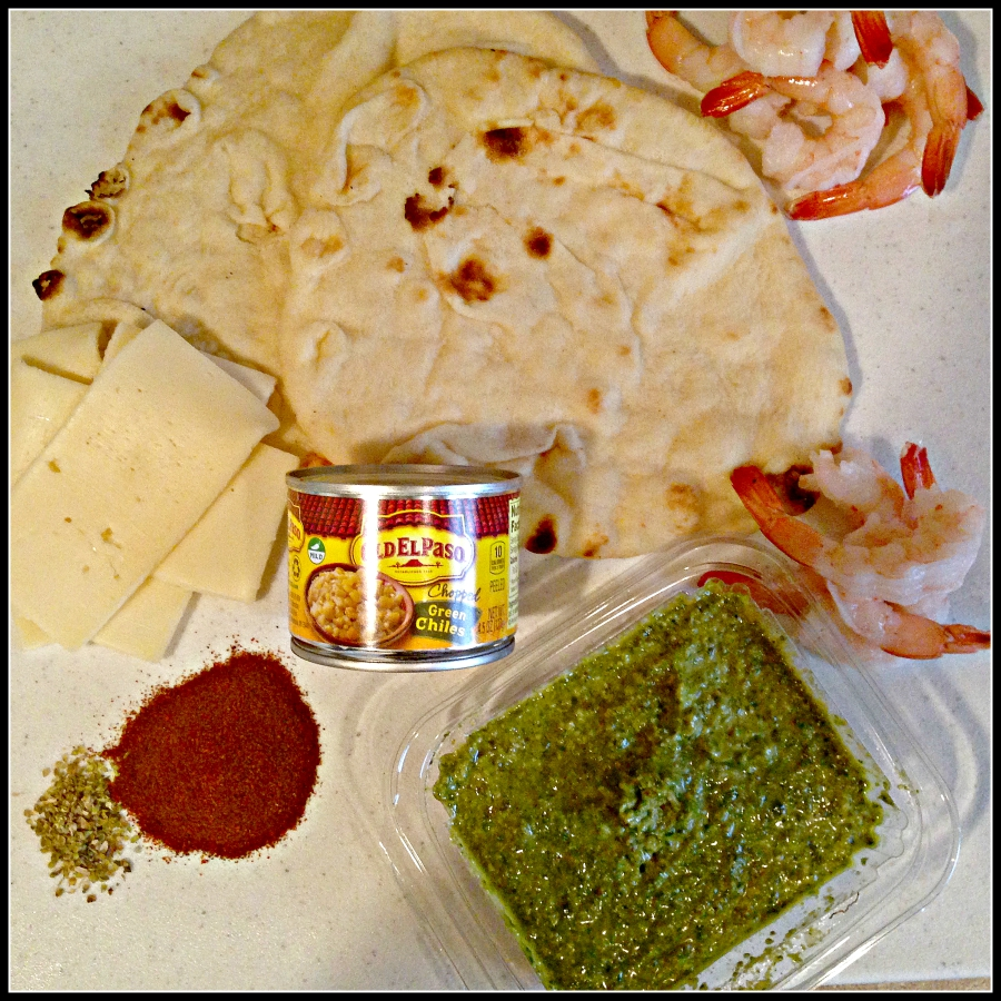 old el paso, easy shrimp dinner, quick shrimp dinner, naan, healthfulmama