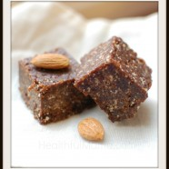 Chocolate Almond Fudge Snack Bites ~dairy-free~gluten-free~vegan~