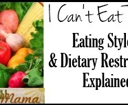 """I Can't Eat That"": A Guide to Diverse Eating Styles & Dietary Restrictions"
