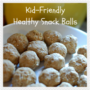 Nut Butter Snack Balls: Kid Friendly!